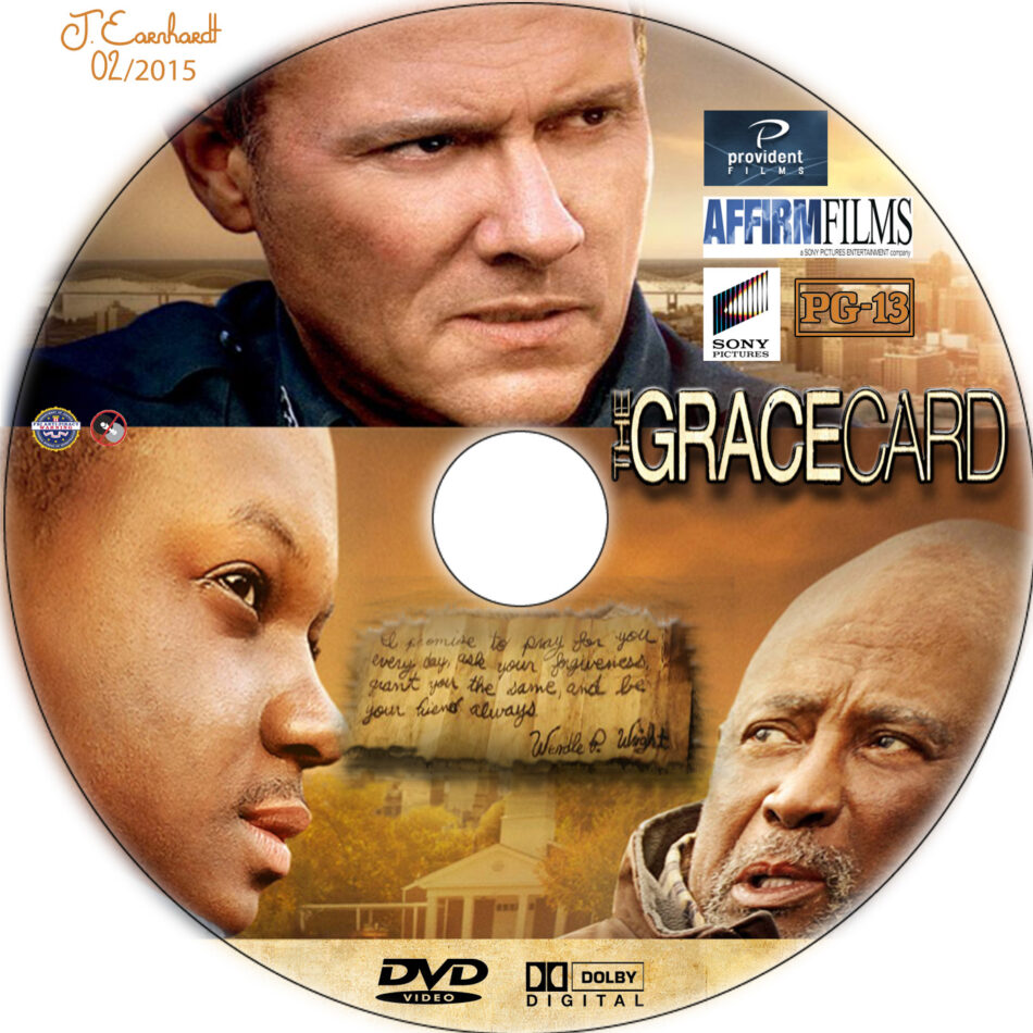 The Grace Card dvd label