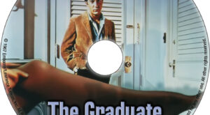 The Graduate dvd label