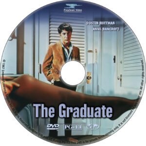 The Graduate dvd label