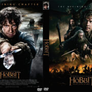 The Hobbit: The Battle of the Five Armies (2014) Custom DVD Cover