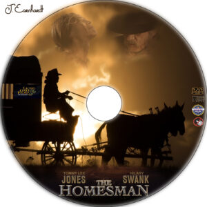 The Homesman dvd label