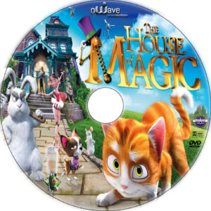 Thunder and the House of Magic dvd label