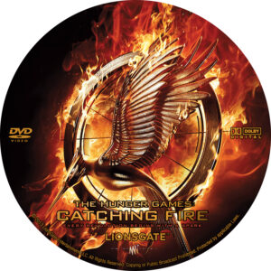 The Hunger Games- Catching Fire Custom Label (Pips)