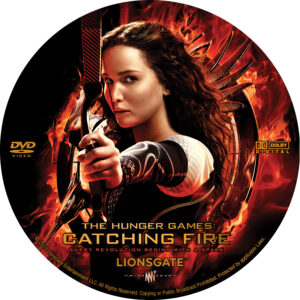 The Hunger Games  Catching Fire V3 Custom Label (Pips)