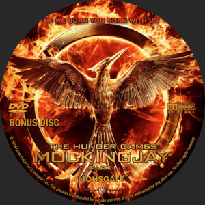 The Hunger Games - Mockingjay P1 Bonus Disc