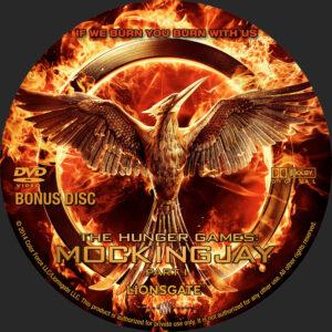 The Hunger Games - Mockingjay P1 Bonus Disc