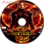 The Hunger Games: Mockingjay - Part 1 (2014) R1 Custom Labels