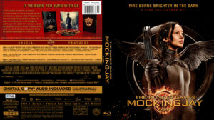 The Hunger Games: Mockingjay - Part 1 blu-ray dvd cover