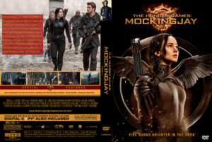 The Hunger Games Mockingjay Part 1 Custom dvd cover