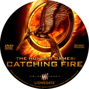 The Hunger Games. Catching Fire Custom Label V1 (Pips)