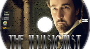 The Illusionist dvd label