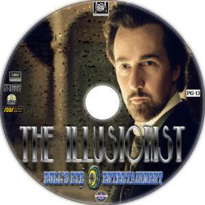 The Illusionist dvd label