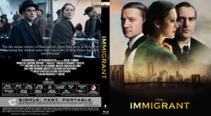 The Immigrant blu-ray dvd cover
