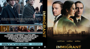 The Immigrant dvd cover