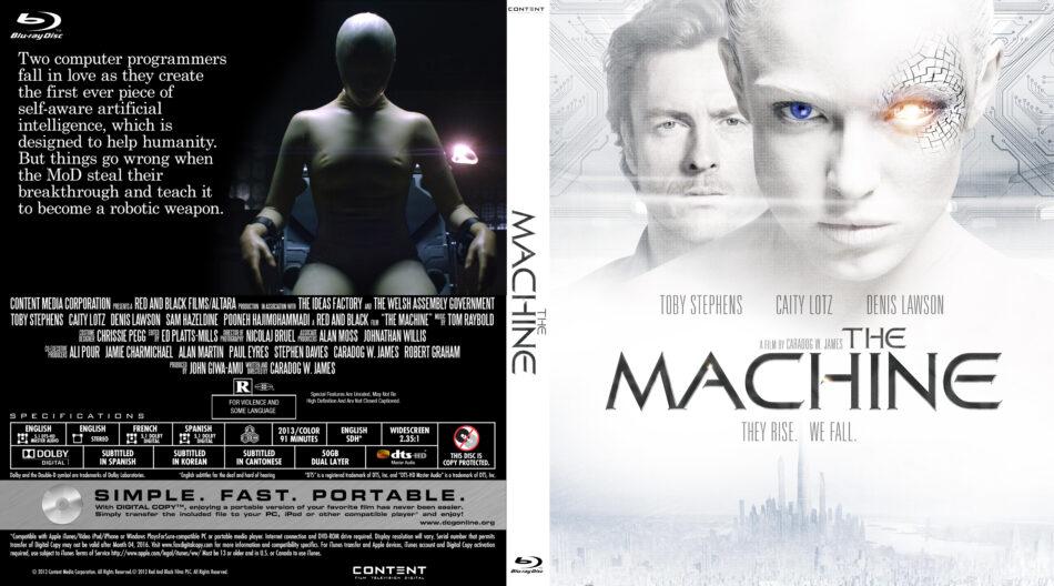 the machine blu-ray dvd cover