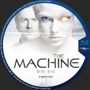 the machine blu-ray dvd cover