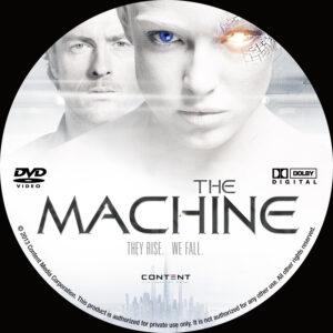the machine dvd label
