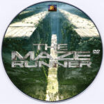 The Maze Runner (2014) R0 Custom DVD Label