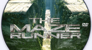 The Maze Runner dvd label