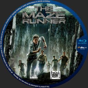 The Maze Runner blu-ray dvd label