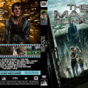 The Maze Runner (2014) R0 Custom Cover & label