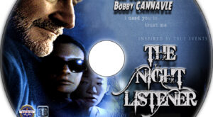 The Night Listener dvd label