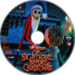 The Nightmare Before Christmas (1993) R1 Custom DVD Label