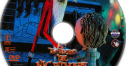 The Nightmare Before Christmas dvd label