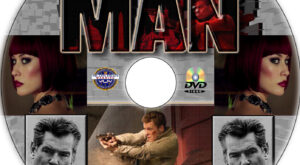The November Man dvd label