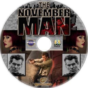 The November Man dvd label