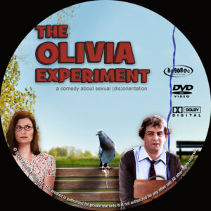 The Olivia Experiment Custom dvd Label