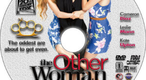 The Other Woman dvd label