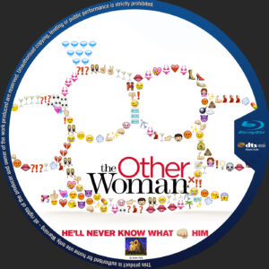 The Other Woman blu-ray dvd label