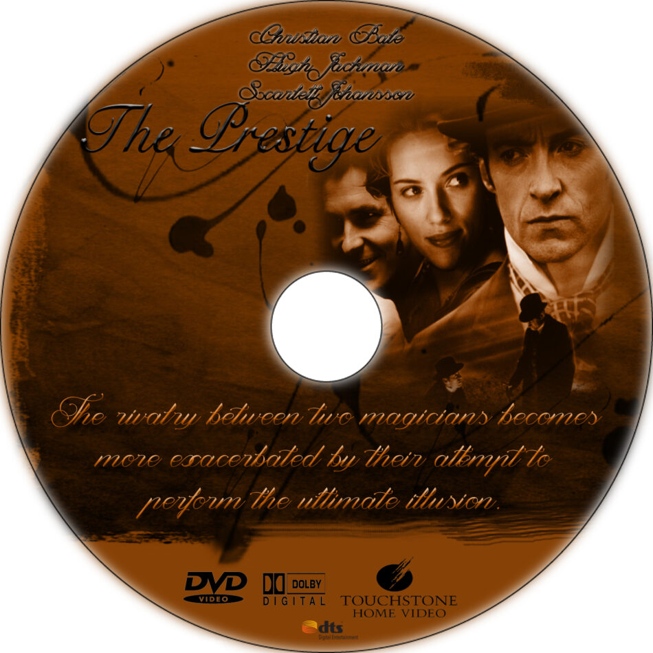 the prestige dvd label