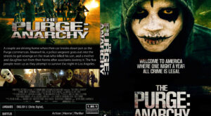 The Purge Anarchy dvd cover