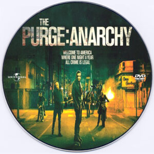The Purge: Anarchy dvd label