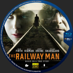 The Railway Man blu-ray dvd label