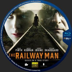 The Railway Man blu-ray dvd label