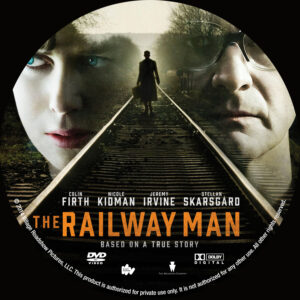 The Railway Man dvd label