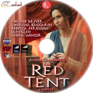 The Red Tent dvd label