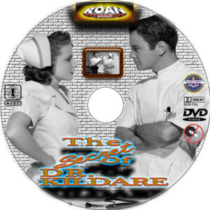 The Secret of Dr. Kildare dvd label