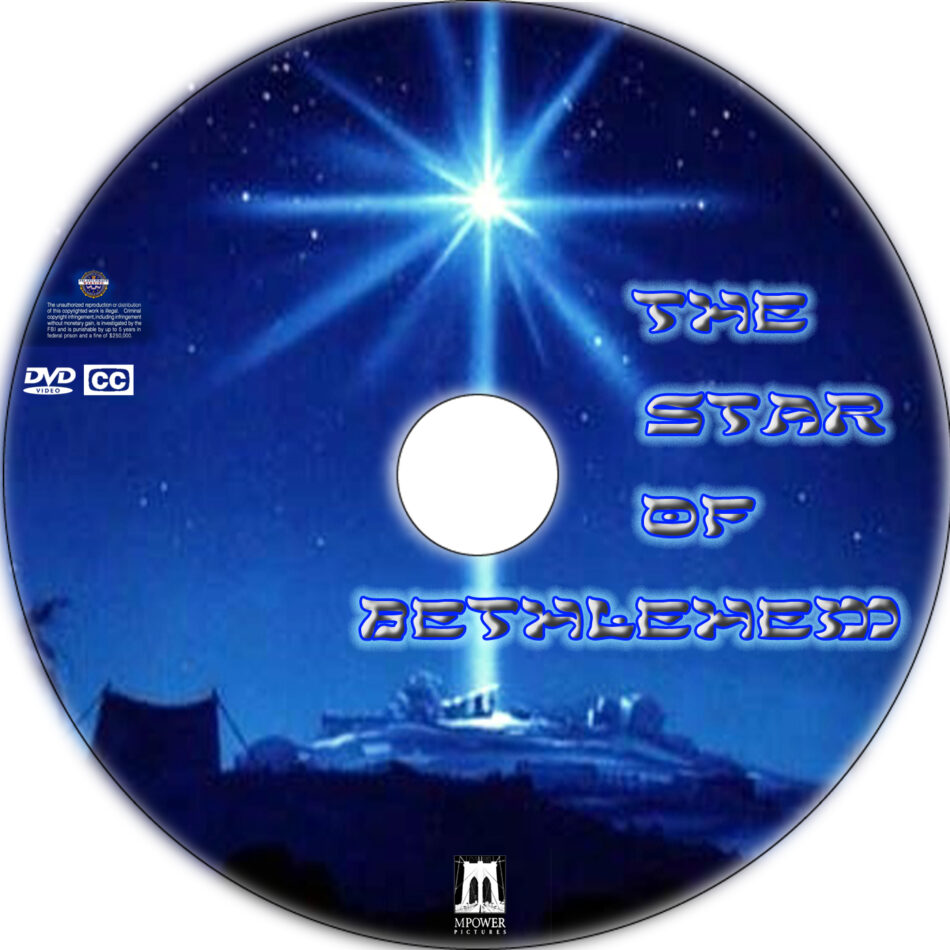 The Star of Bethlehem dvd label
