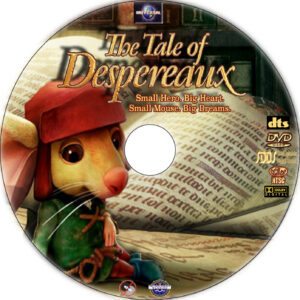 The Tale of Despereaux dvd label
