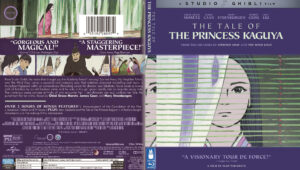 The Tale of The Princess Kaguya BLURAY COVER