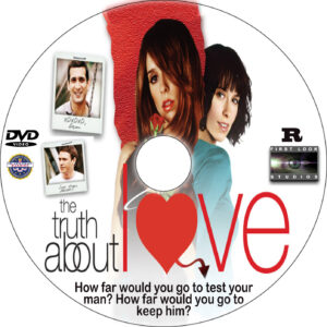 The Truth About Love dvd label