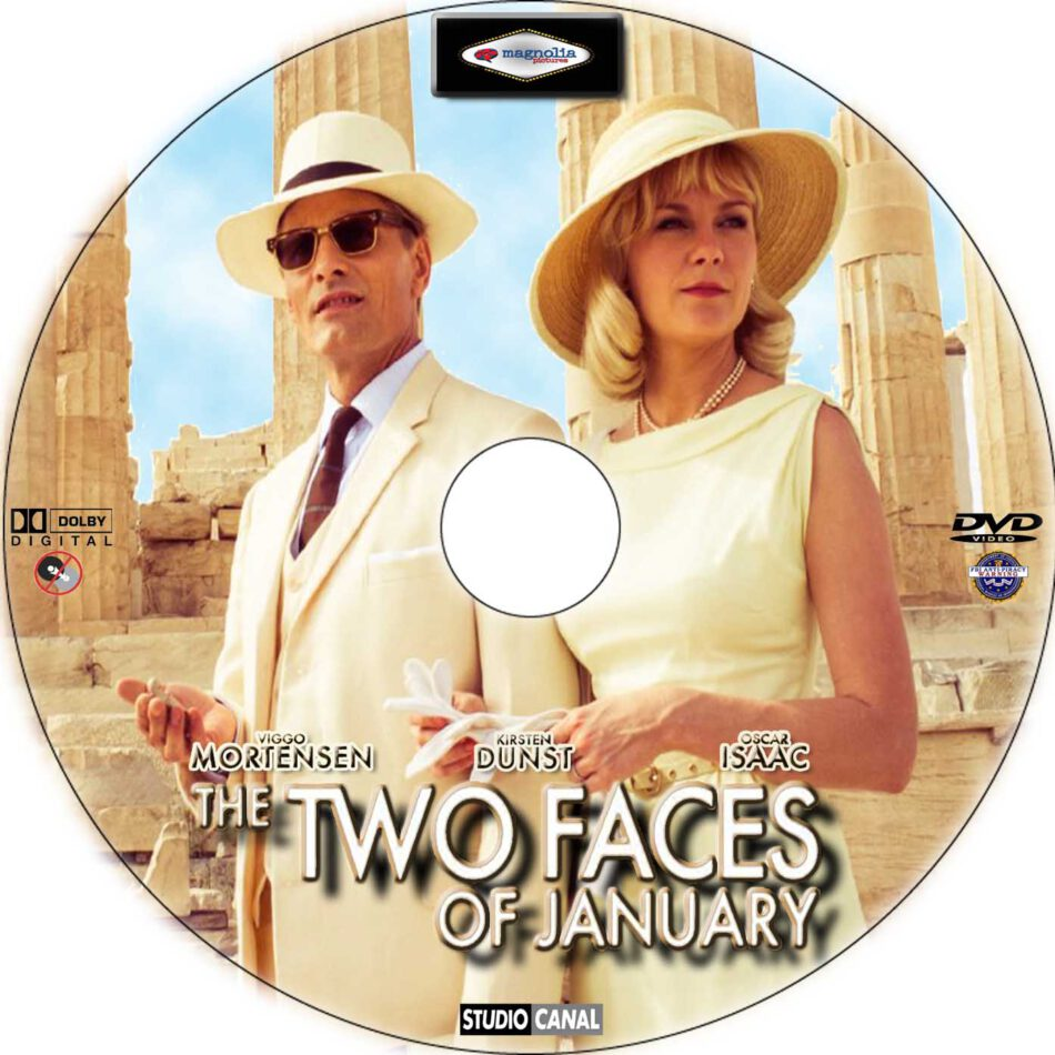 The Two Faces of January dvd label