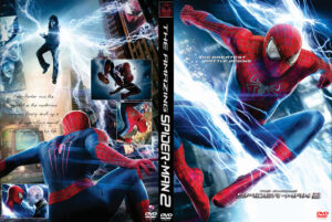 The Amazing Spider-Man 2 dvd cover