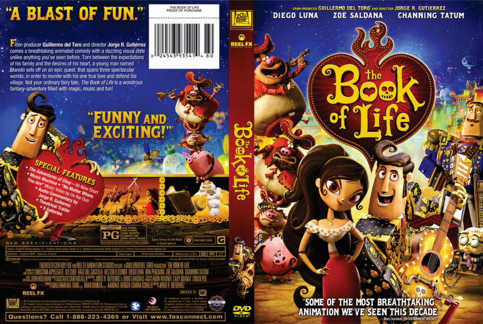 The Book of Life dvd cover