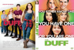 The DUFF (2015) Custom DVD Cover
