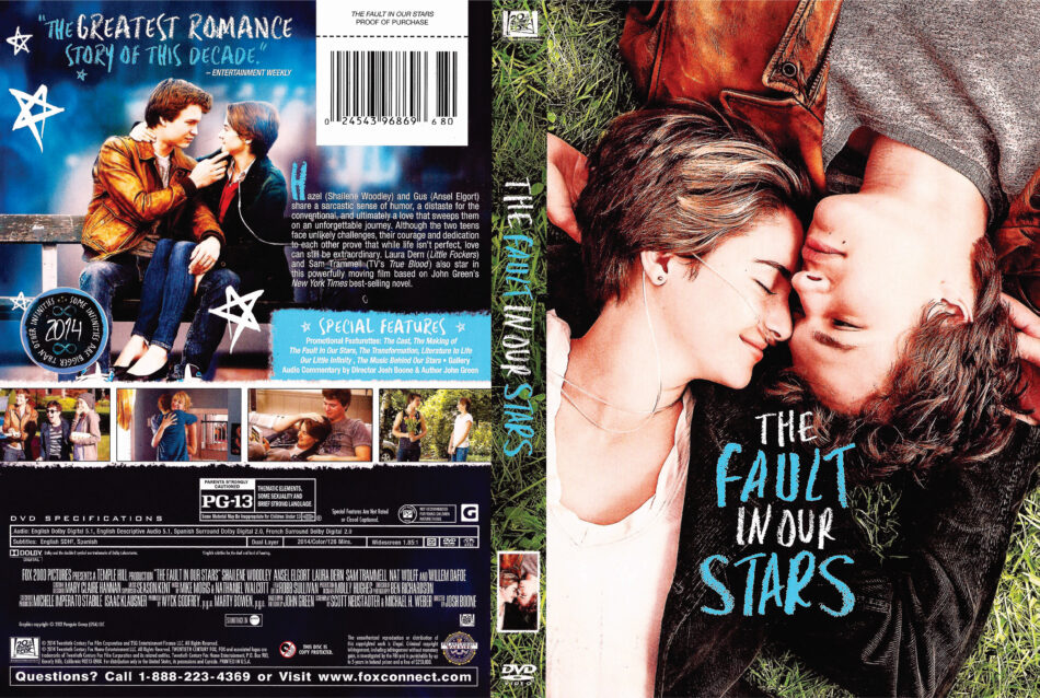 The Fault in Our Stars dvd cover
